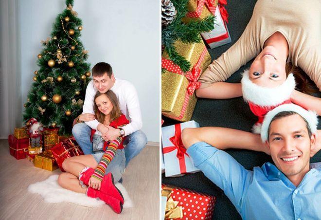образ для новогодней фотосессии влюбленных