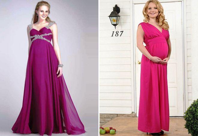 новогодние образы для беременных