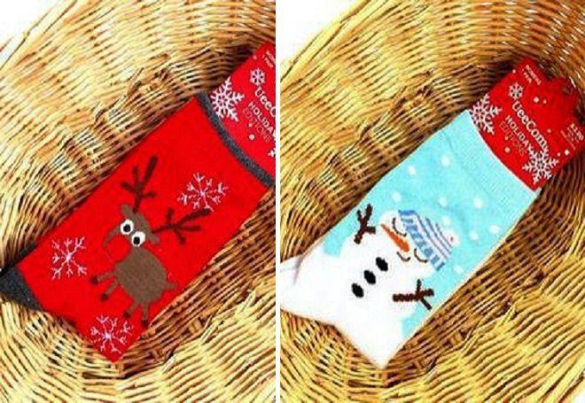 Vánoční ponožky 10
