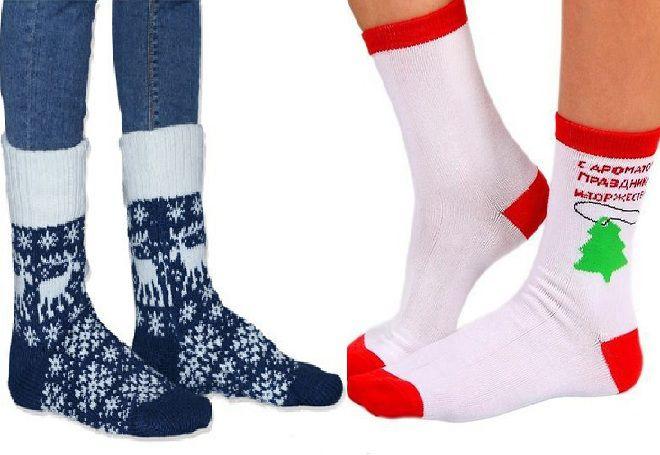 Vánoční ponožky 11