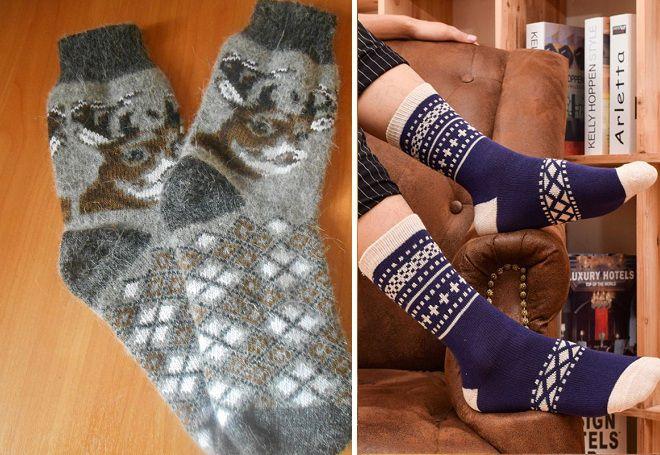 Vánoční ponožky 12