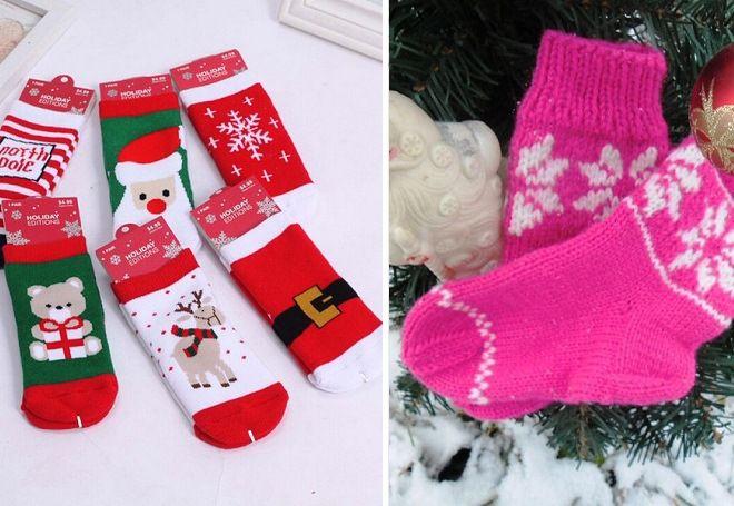 Vánoční ponožky 13