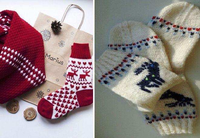 Vánoční ponožky 14