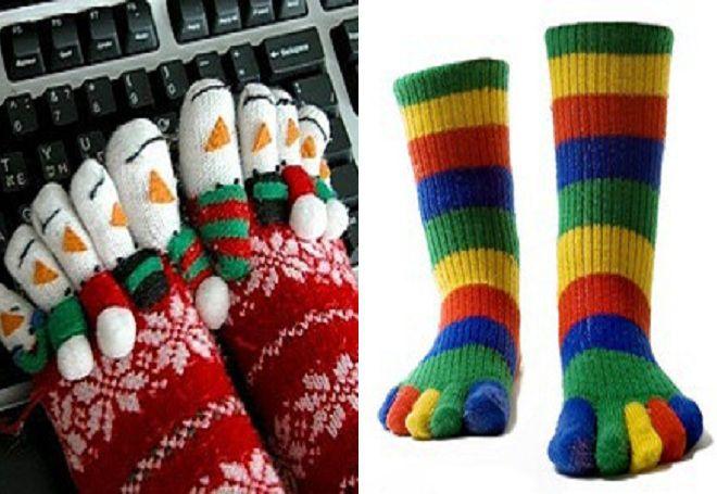 Vánoční ponožky 15