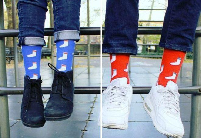 Vánoční ponožky 16