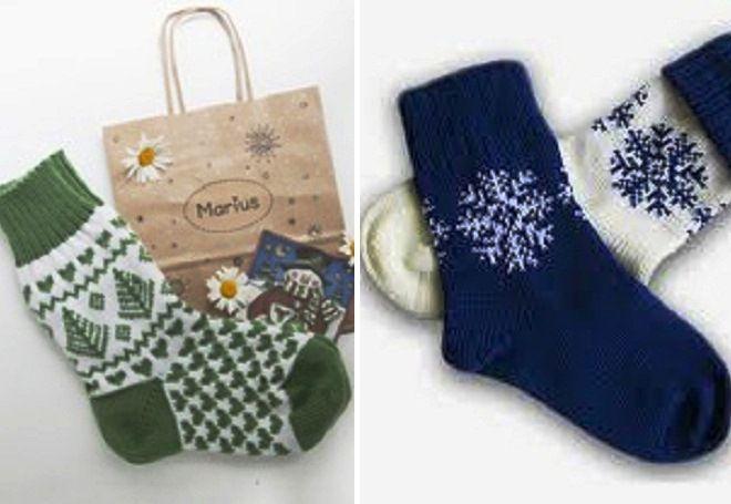 Vánoční ponožky 18