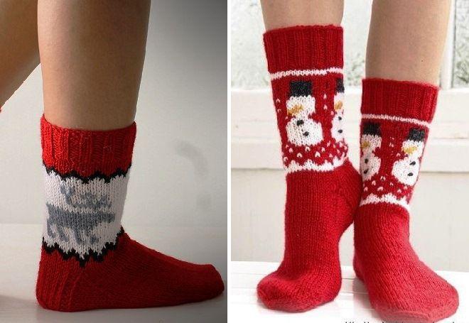 Vánoční ponožky 19