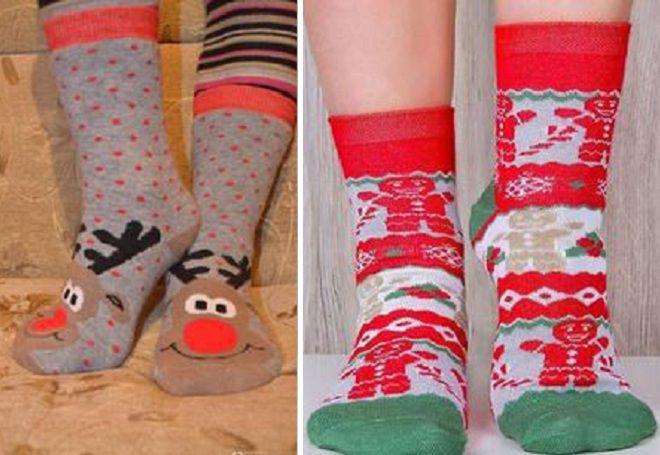 Vánoční ponožky 3