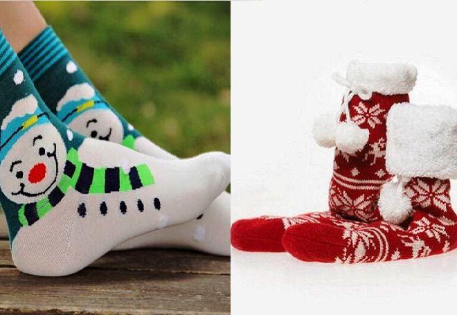 Vánoční ponožky 4
