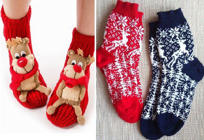 Vánoční ponožky 6