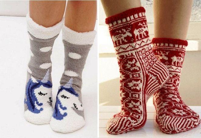 Vánoční ponožky 7