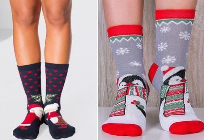 Vánoční ponožky 8