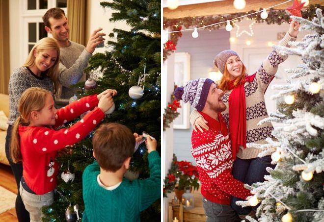 свитер на Новый Год