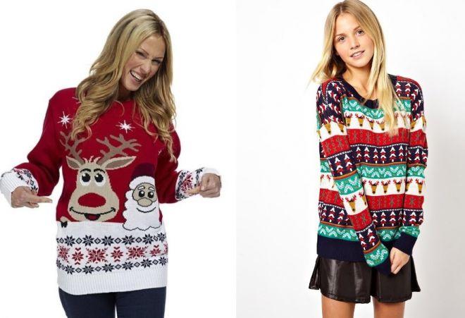 Swetry noworoczne 1