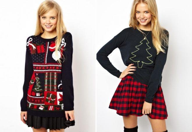 Swetry noworoczne 2