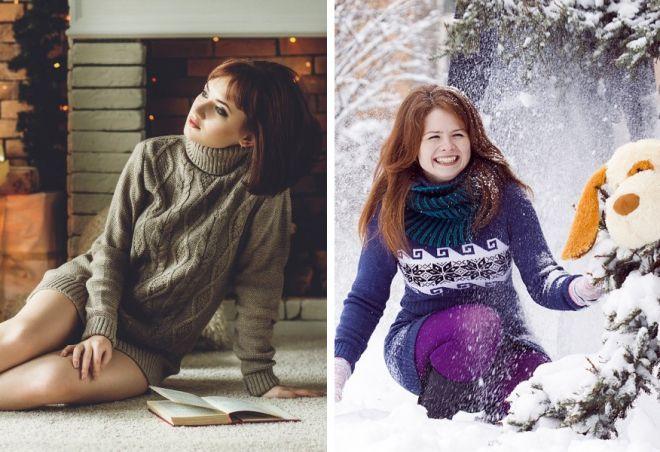 Swetry na Nowy Rok 21