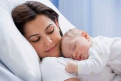 stopnja spanja pri novorojenčkih