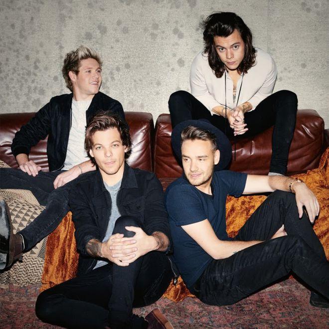 Последний состав группы One Direction