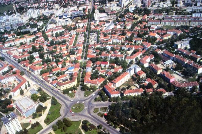 Вид на площадь Слобода