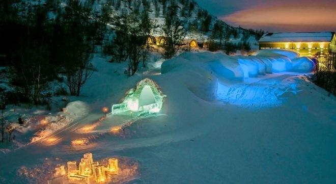 Ледяной отель Киркенес
