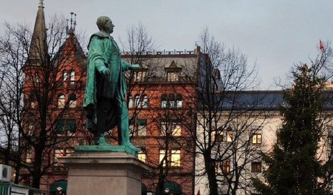Памятник Вергеланду