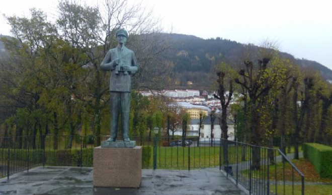 Памятник Хаакону VII