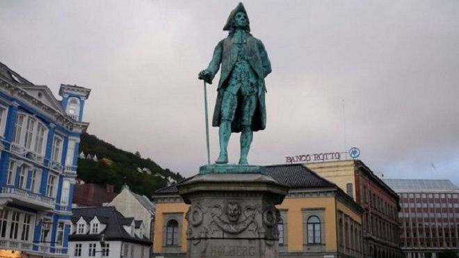 Скульптура Хольберга