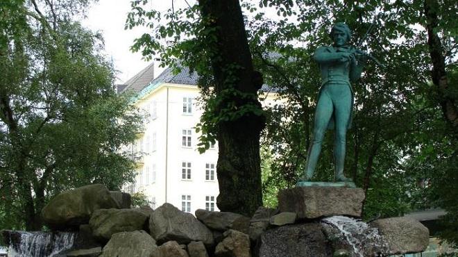 Памятник Оле Буллу