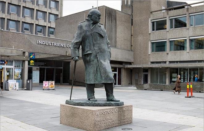Памятник Черчиллю