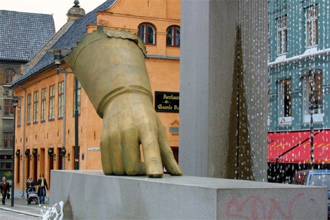 Памятник Перчатке