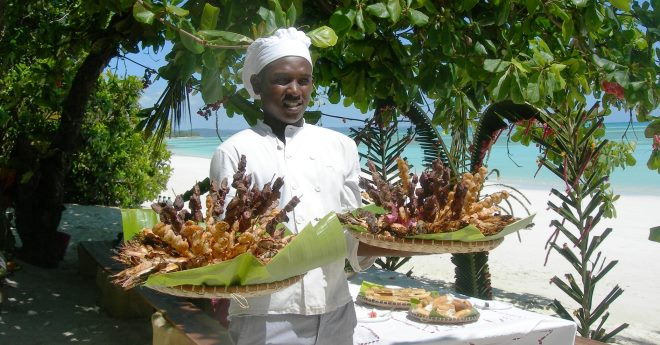 Кухня острова