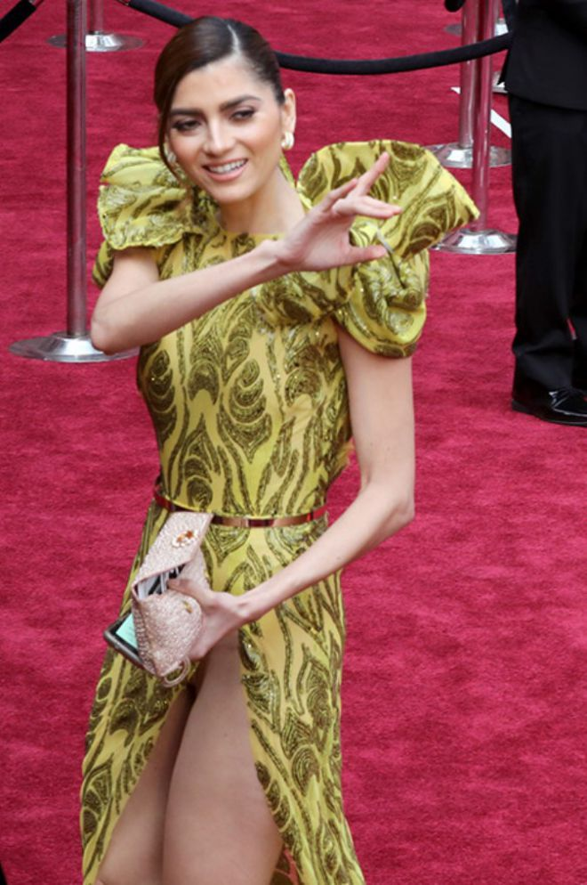 Американская актриса Бланка Бланко на «Оскаре-2017»