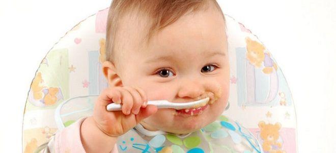 Как правильно кормить ребенка после года