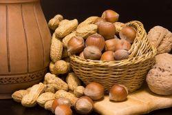 oreški in prehrana