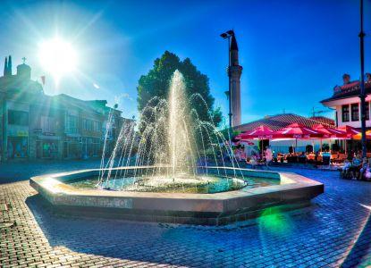 Фонтан на главной площади города