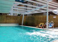 Отель Villa Milka басейн