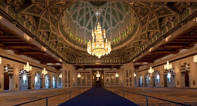 Мечеть Султана Кабуса внутри