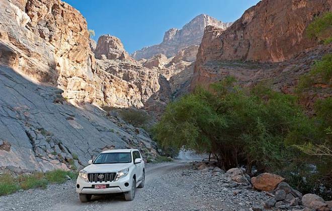 Тур по оманским вади