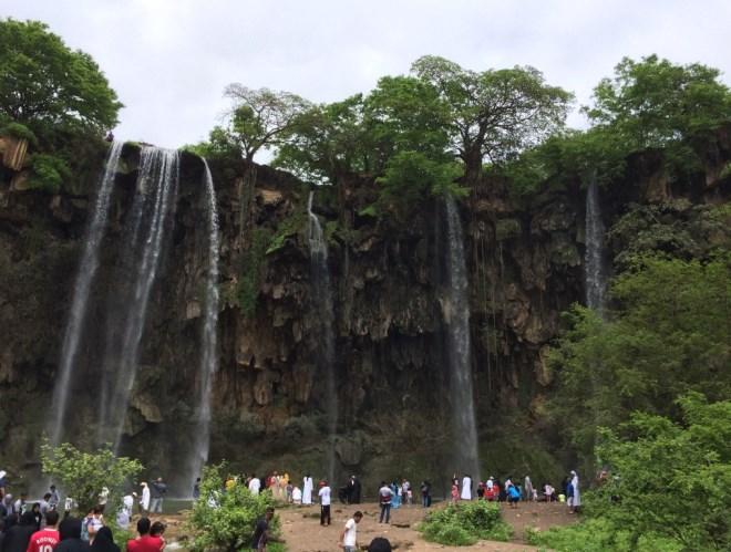 Водопады Омана