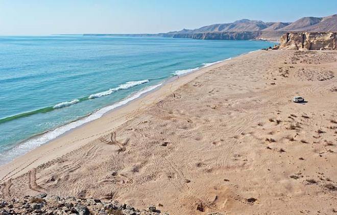 Безлюдные пляжи Омана