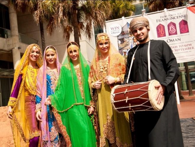 Фестиваль в Омане