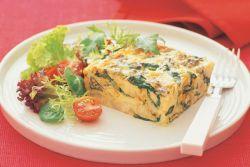 omlet s cvjetača i sirom