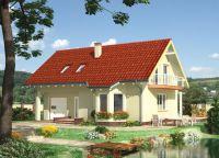 Jednosobna kuća s potkrovljem