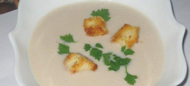 Пюре лук супа