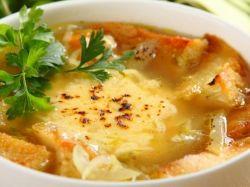 zupa cebulowa z serem
