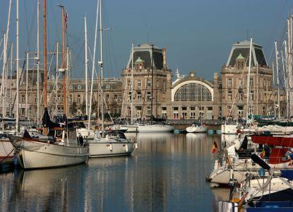Крупный бельгийский порт - Остенде