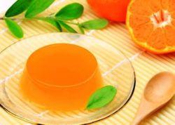 galaretka z przepisu soku pomarańczowego