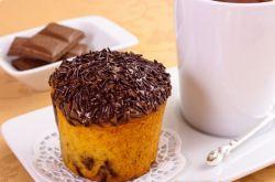 przepis na pomarańczowy muffin