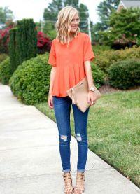 oranžna majica 6