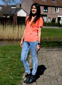 oranžna majica 8